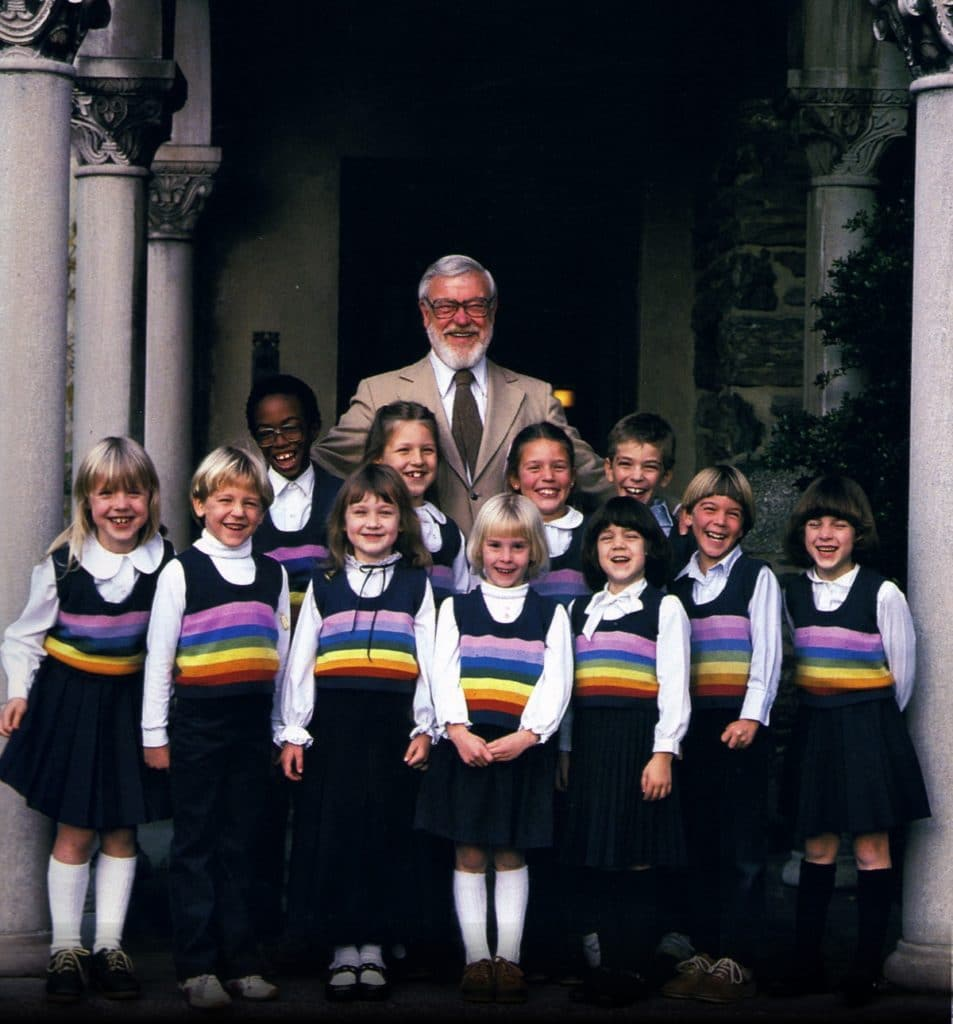 Glenn Doman with children