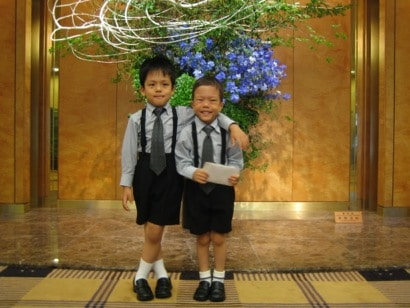 Yoshiki & Yuuki Holding Donation