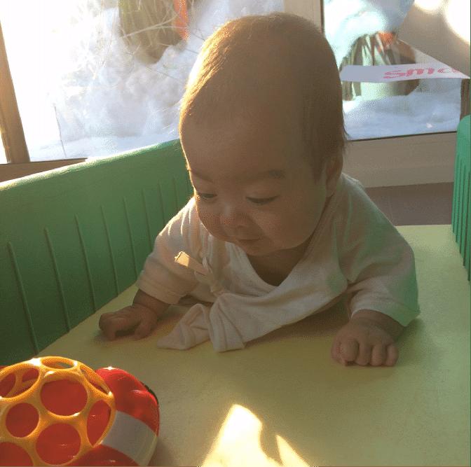Developmental Delay Premature Babies Crawling Toy