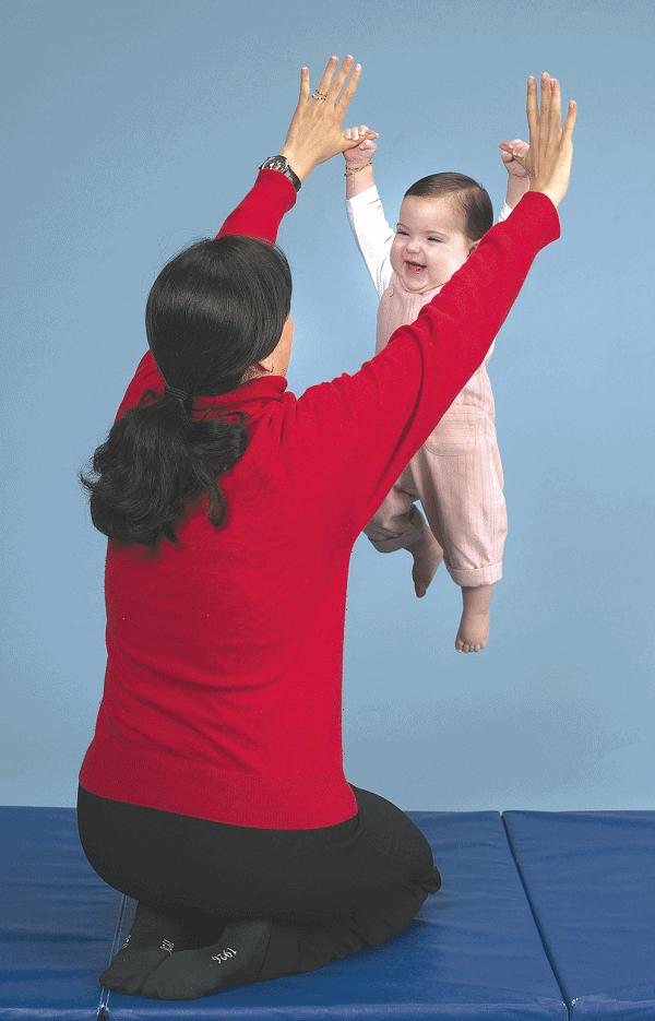 Mother Holding Child, Smarter Babies