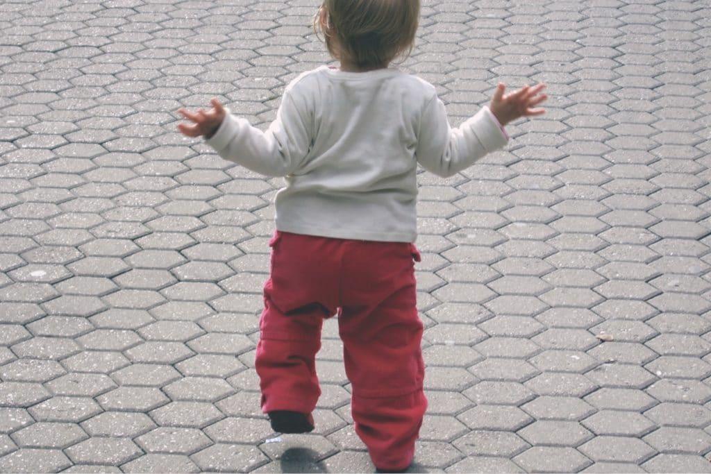 Walking child